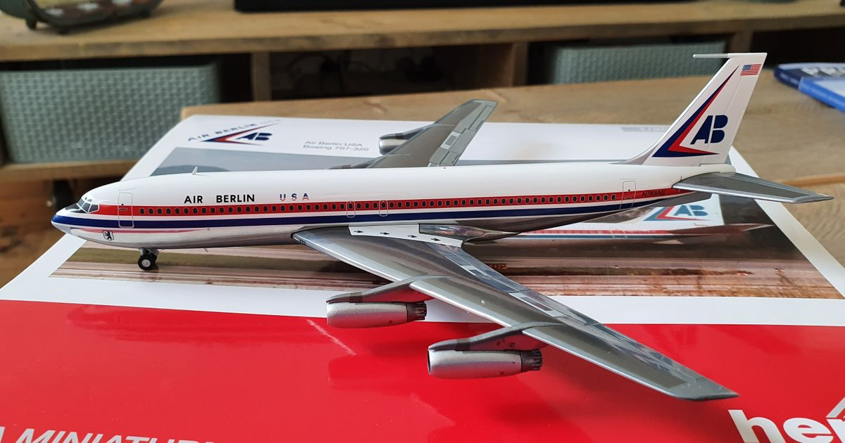 Herpa Boeing 707-320 Air Berlin USA 559911 €71,95