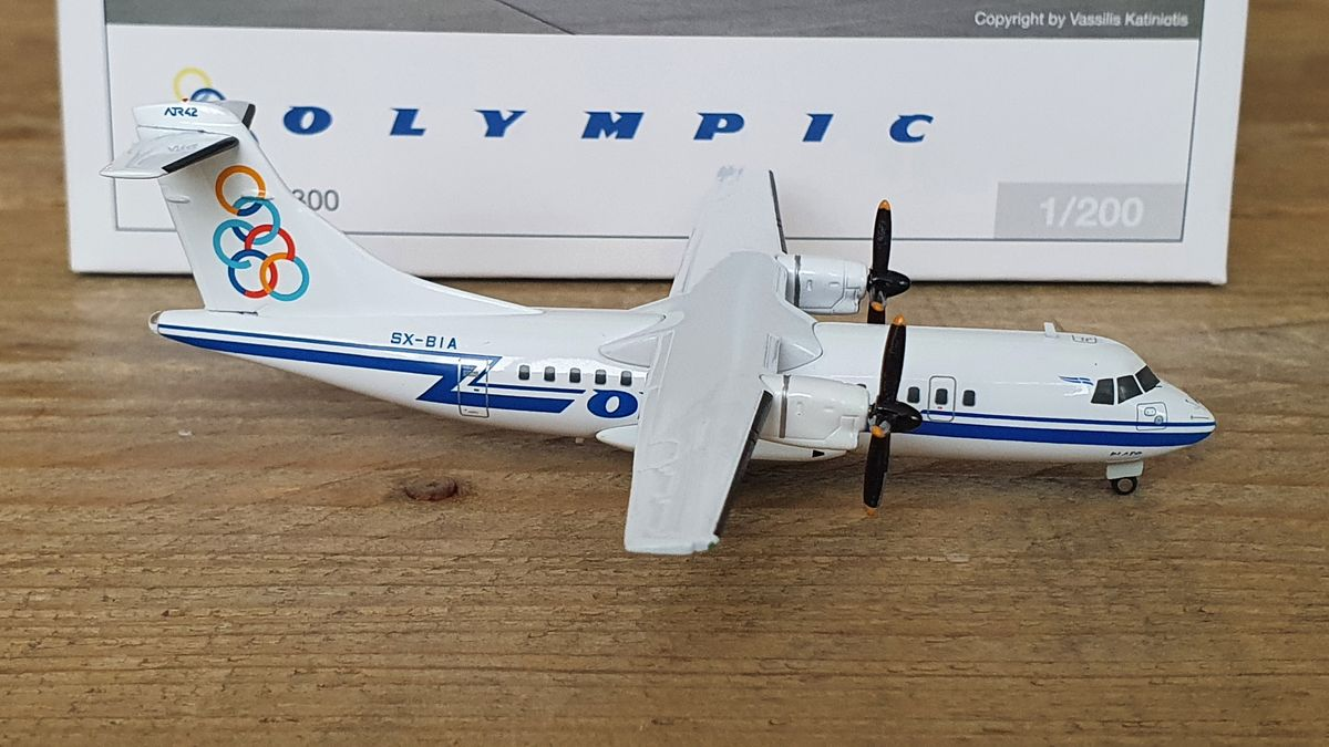 Herpa ATR-42-300 Olympic Airlines SX-BIA €75