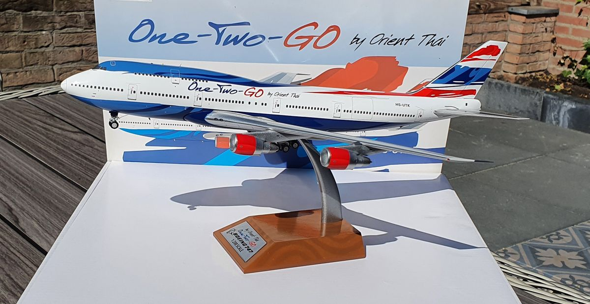 Inflight200 Boeing 747-300 Orient Thai Airlines/One-Two-Go HS-UTK €135