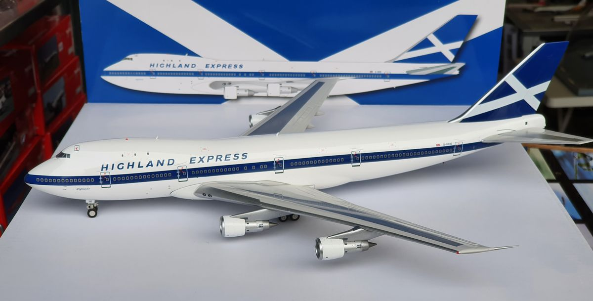 Inflight200 Boeing 747-100 Highland Express G-HIHO €135