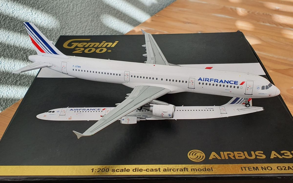 Gemini200 Airbus A321 Air France G2AFR400 €85